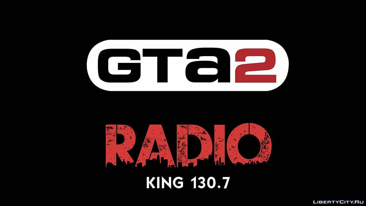 Мод KING 130.7 (Rebel Radio) для gta-2