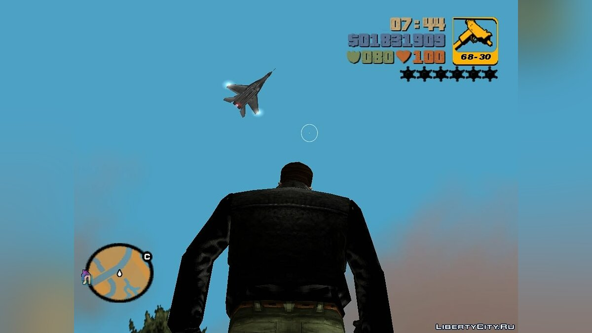 МіГ-29 з Call of Duty для GTA 3