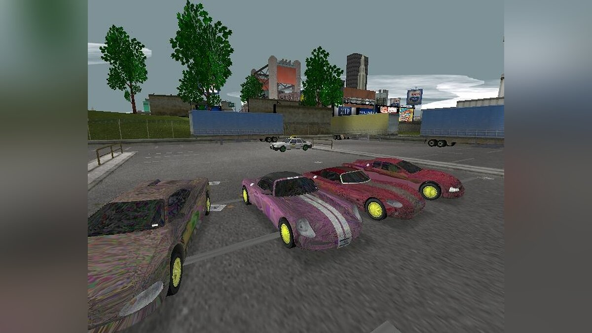 HD Sport Cars - Light Version для GTA 3