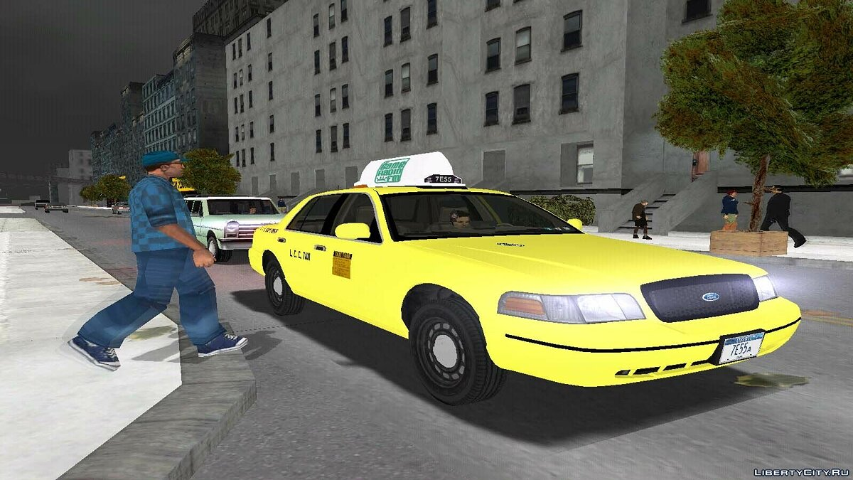 Crown Victoria Taxi Pack для GTA 3 - Картинка #4