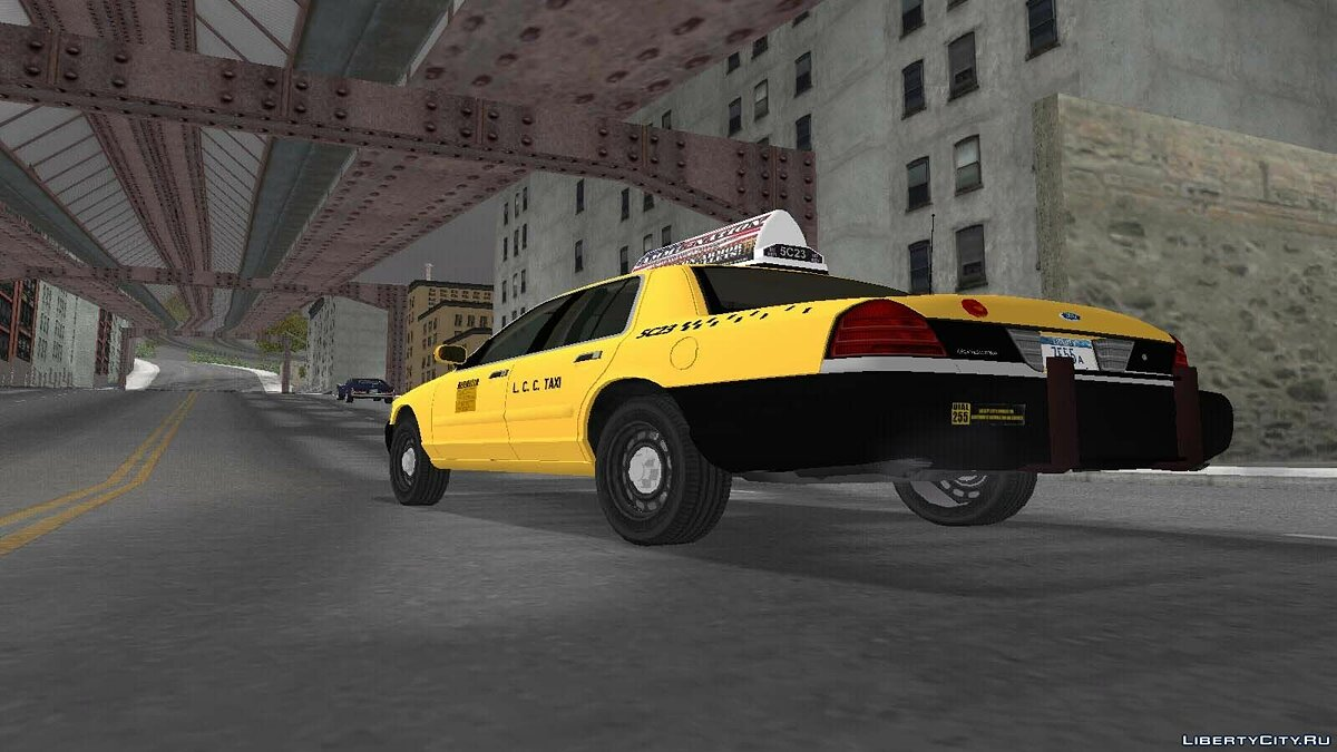 Crown Victoria Taxi Pack для GTA 3 - Картинка #5