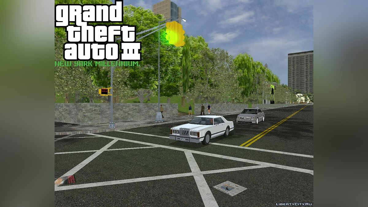 Великий мод GTA 3: New York Millennium Mod. для GTA 3
