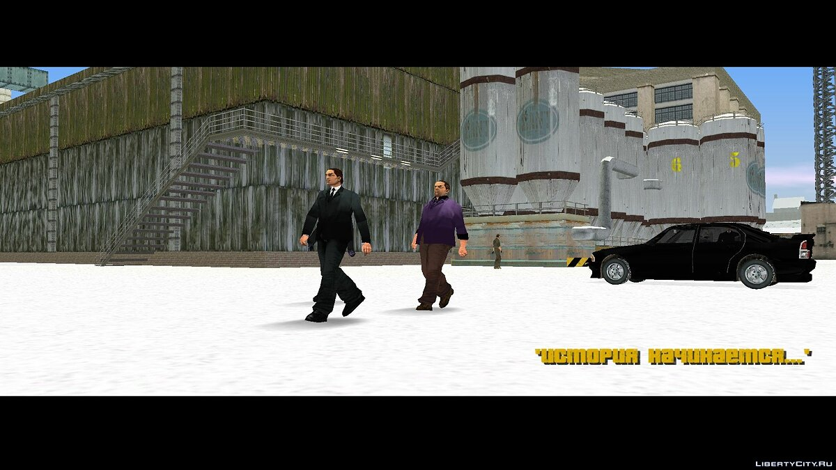 GTA Frosted Winter: Ultimate Winter Mod (Російська версія) для GTA 3 - Картинка #1