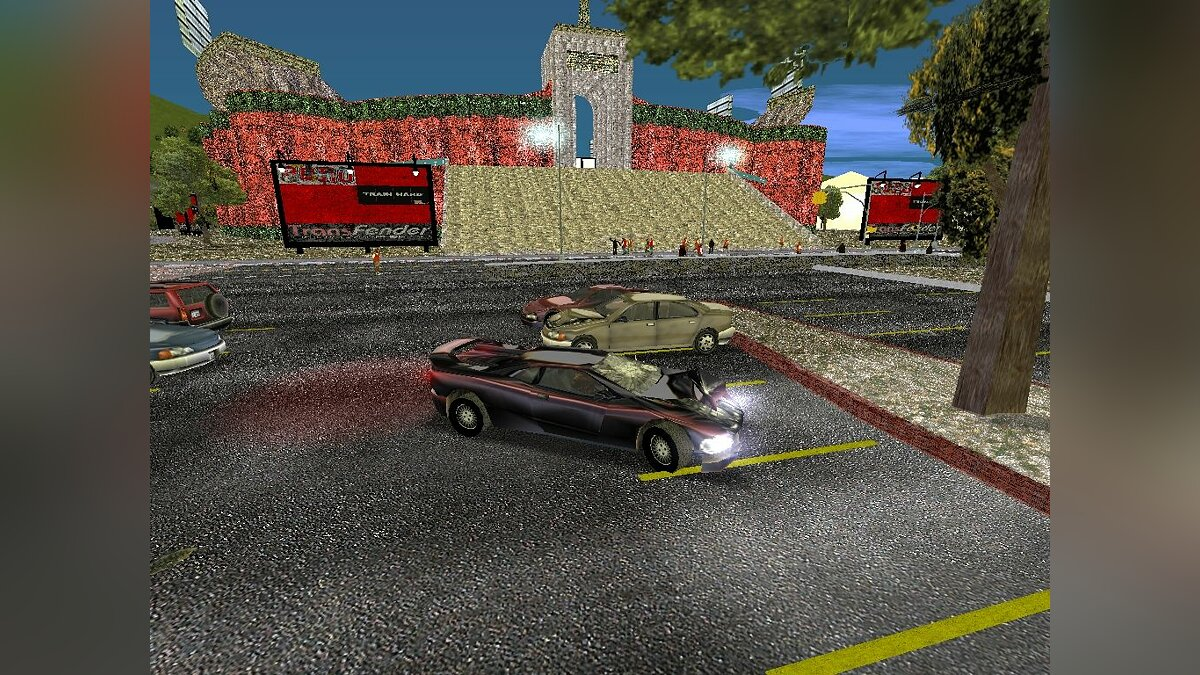 Stadium Reconstruction для GTA 3
