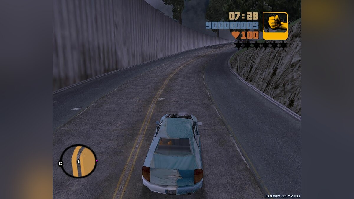 New roads for GTA 3 для GTA 3