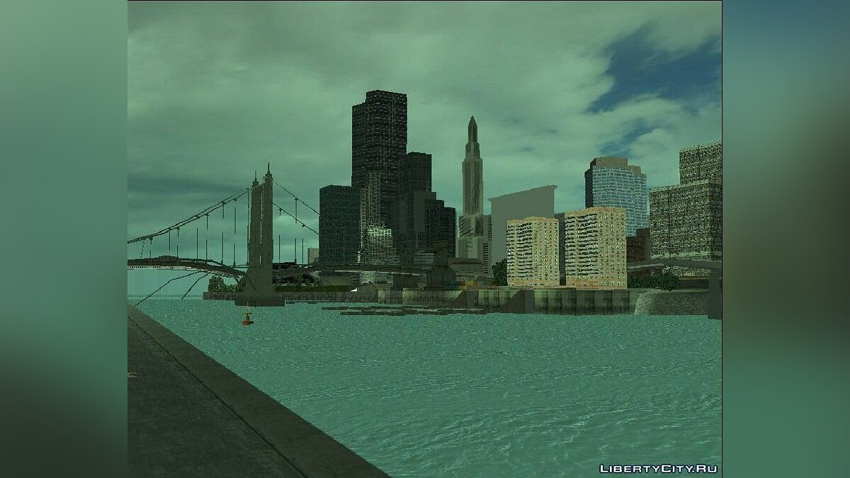 New Water Texture for GTA 3 для GTA 3