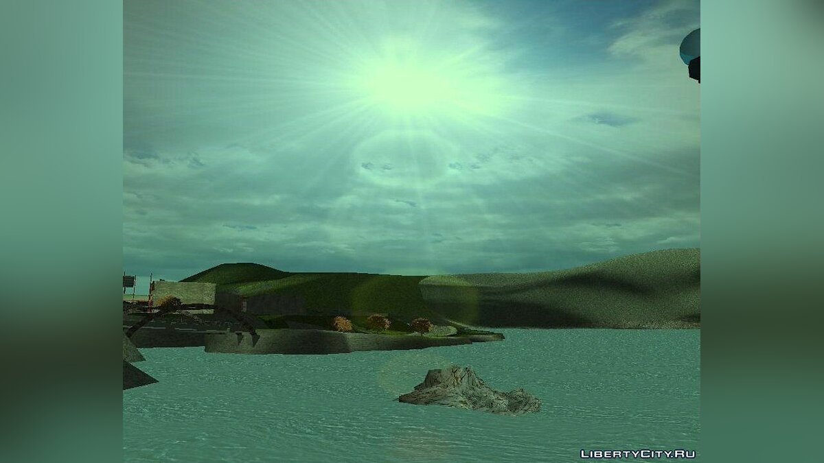 New Water Texture for GTA 3 для GTA 3 - скріншот #2