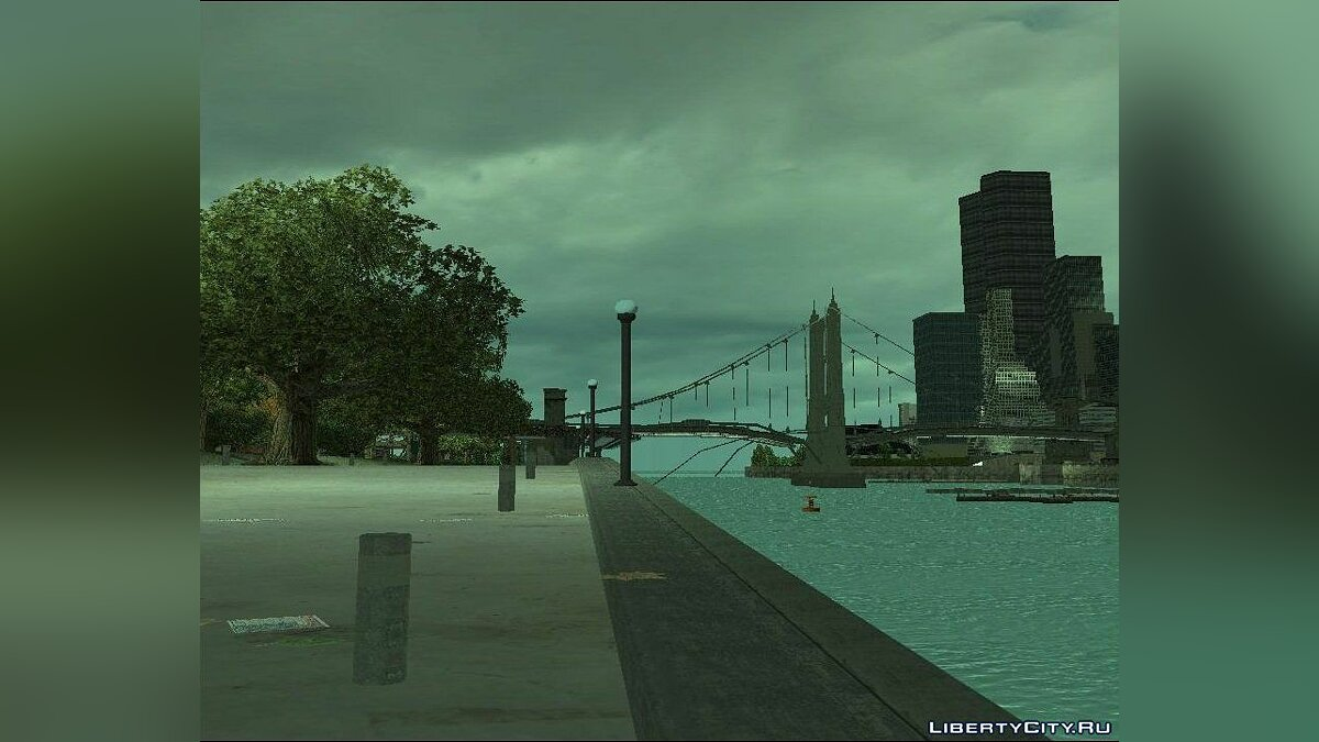 New Water Texture for GTA 3 для GTA 3 - скріншот #3