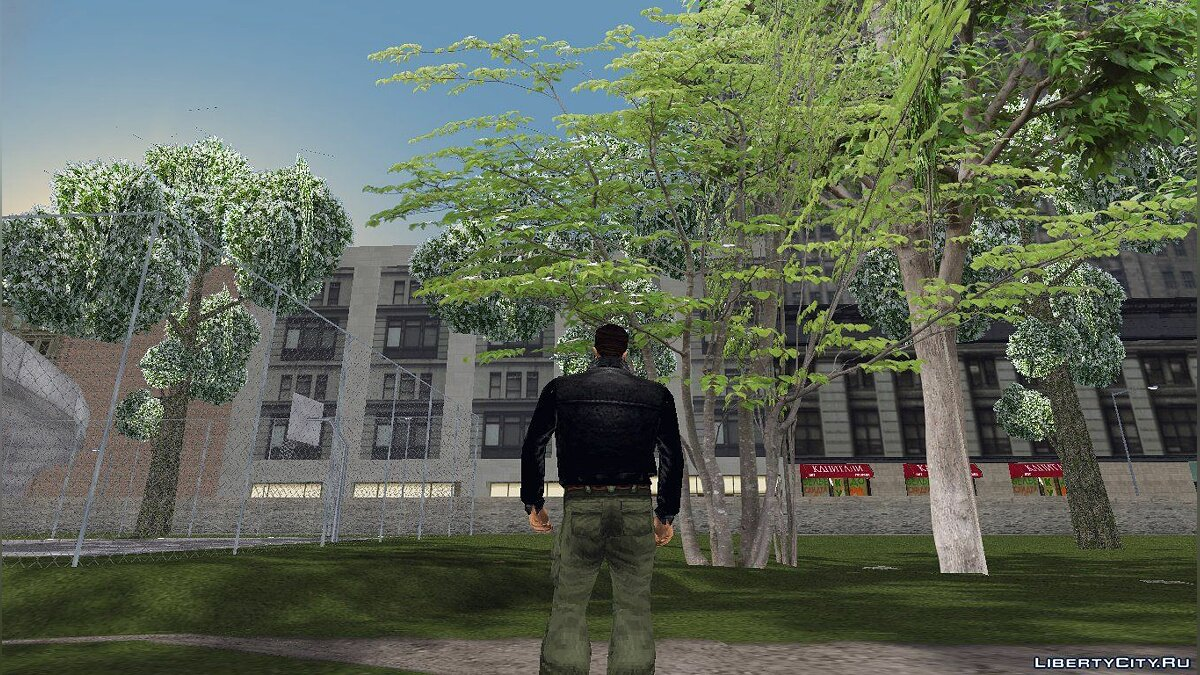 GTA3 HD Trees для GTA 3