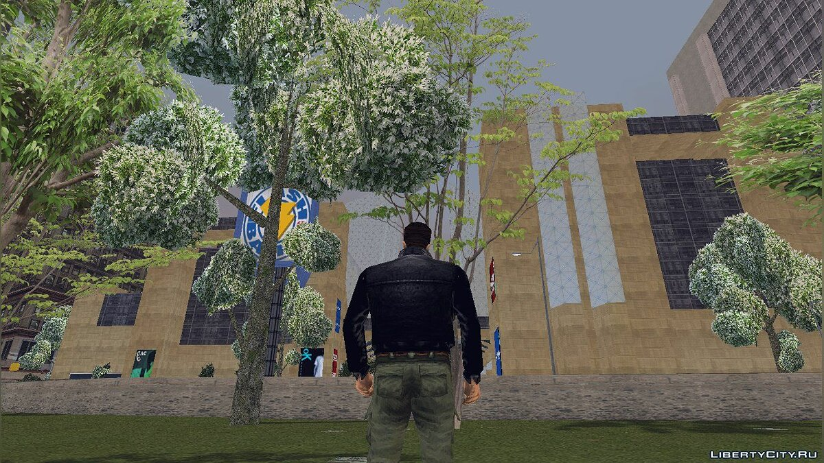 GTA3 HD Trees для GTA 3 - скріншот #2