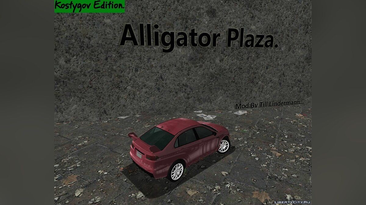 Alligator Plaza. для GTA 3 - Картинка #3