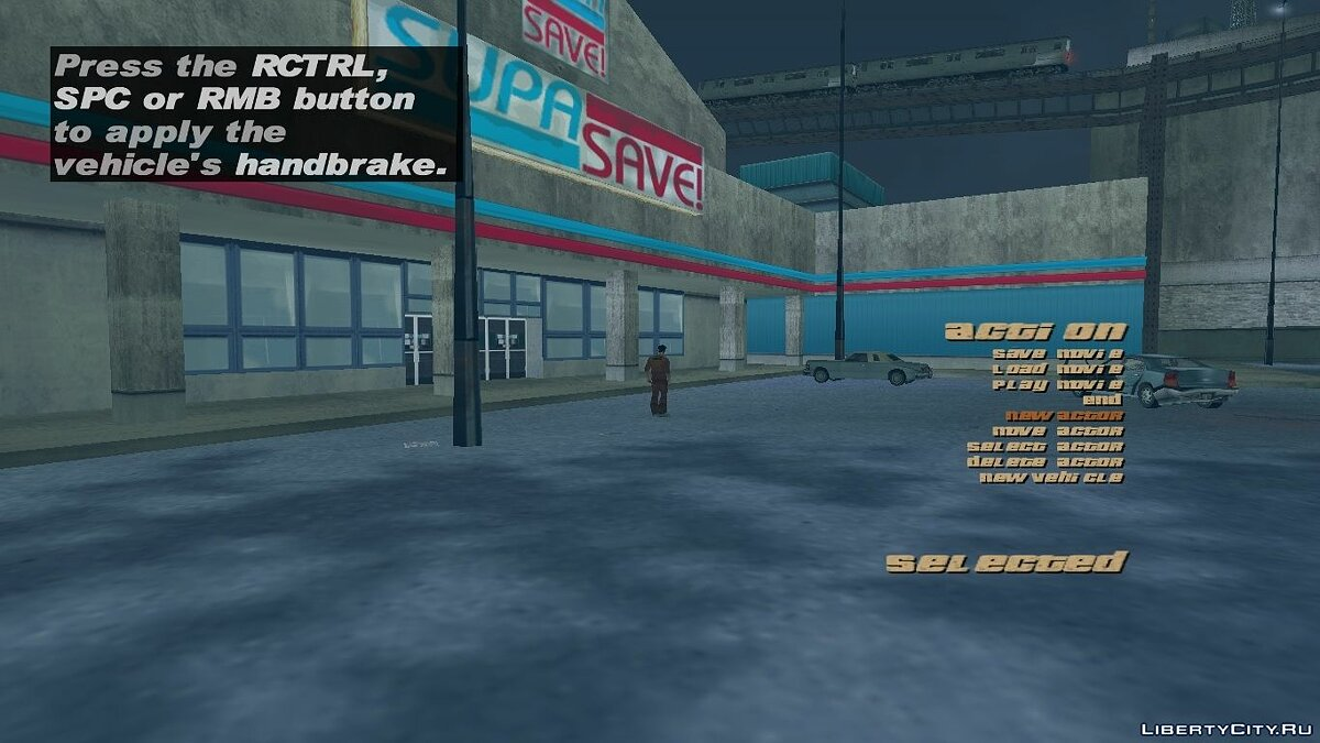 ��едактор GTA3 R * movie menu для GTA 3