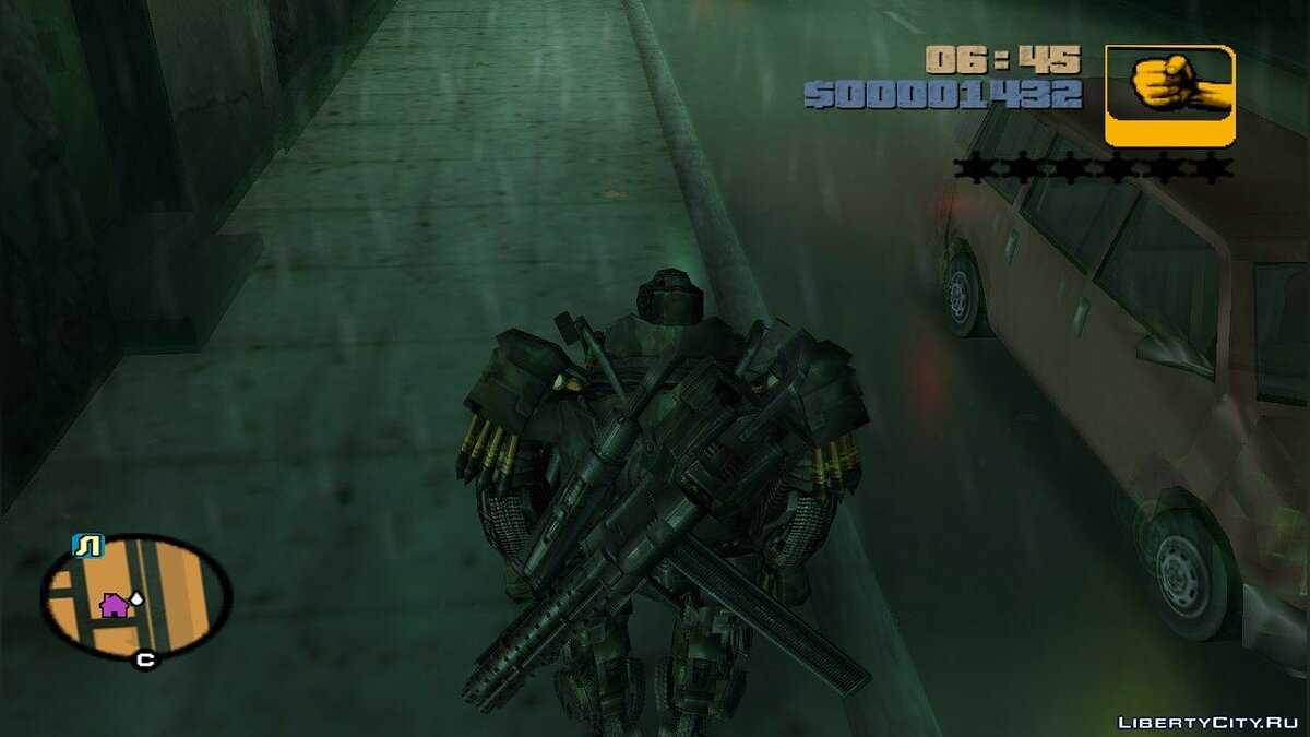 Новий персонаж Hound from Transformers: Age of Extinction для GTA 3