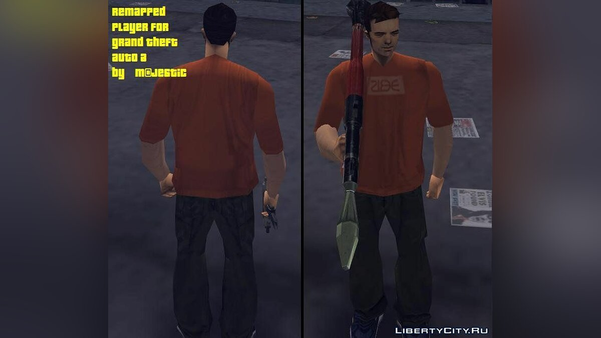 Claude remapped для GTA 3