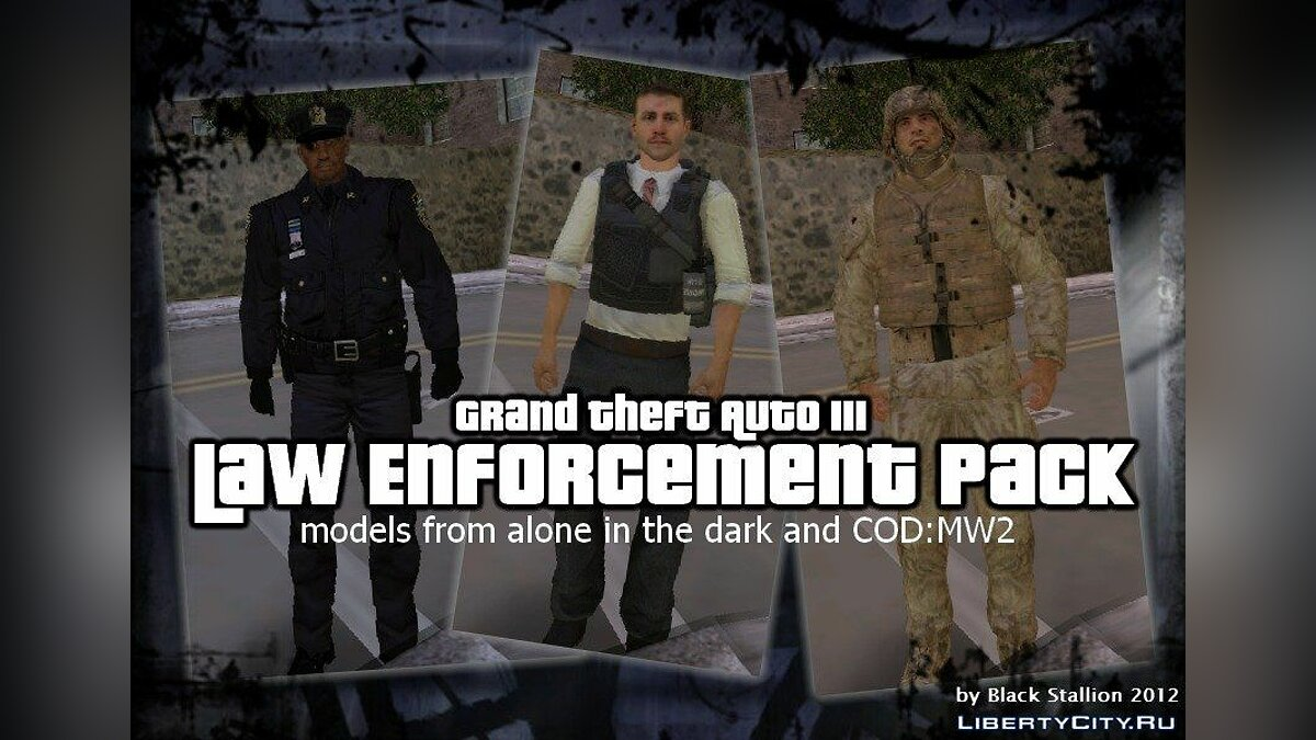 Law Enforcement Pack для GTA 3