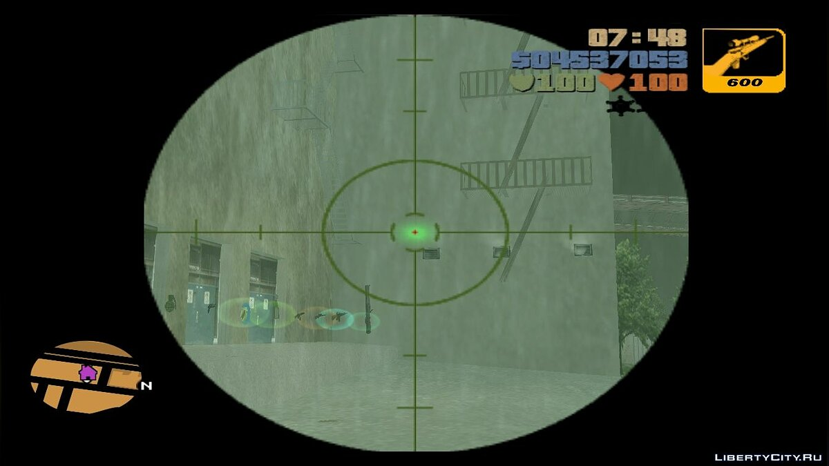 GTA III Laser Scope для GTA 3