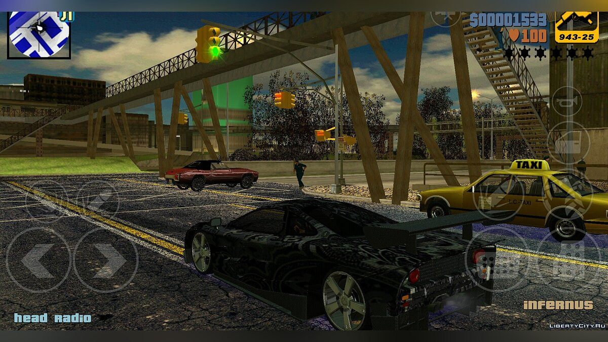 ��еликий мод Nice pack by Arturo Carmona для GTA 3 (iOS, Android)