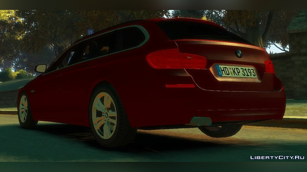 ��ашина BMW BMW 530D Facelift Touring 2014 для GTA 4
