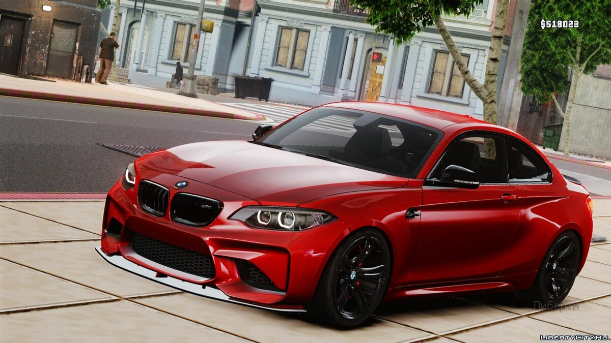 ��ашина BMW BMW M2 Coupe для GTA 4