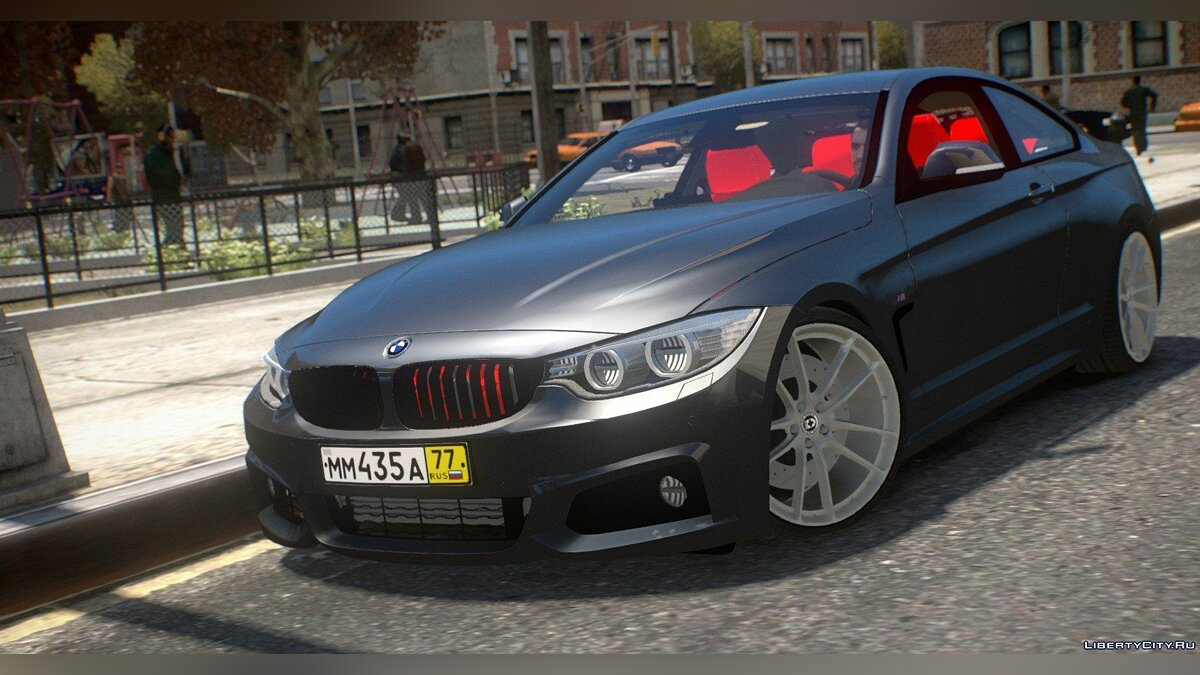 Машина BMW BMW 435i Coupe для GTA 4