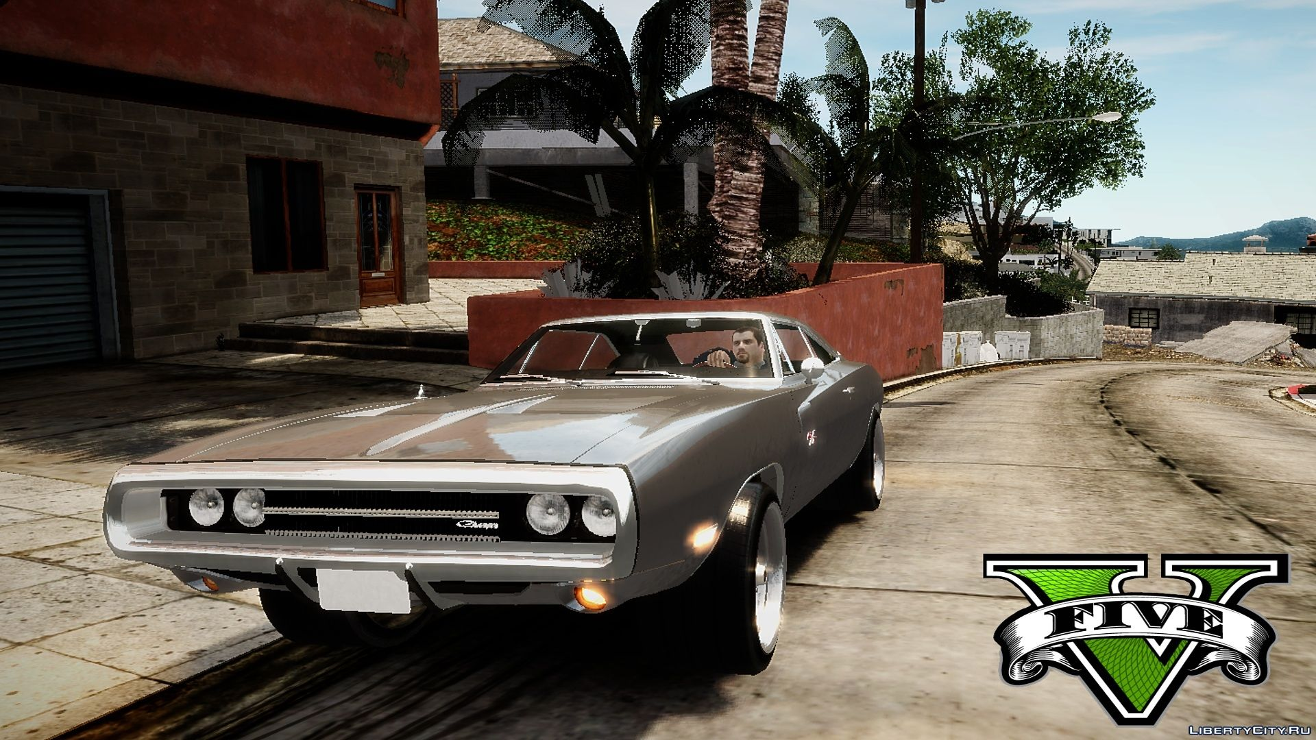 Fast and Furious 7 1970 Dodge Charger Movie car mod v2.0 для GTA 4