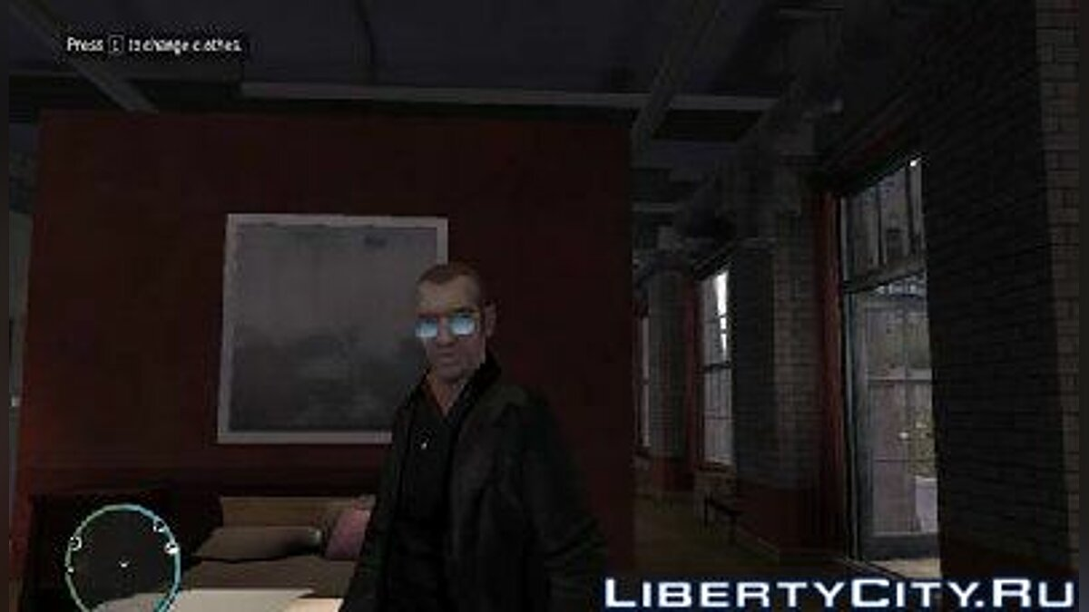 ��куляри Blue Glasses для GTA 4