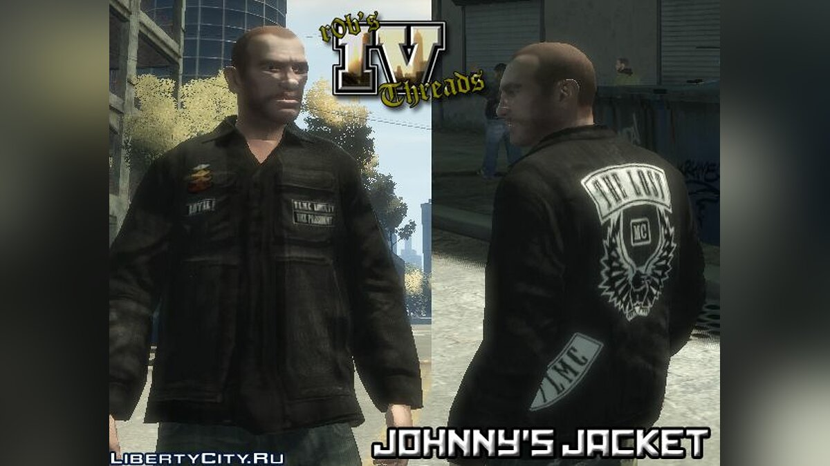 Johnnys Jacket for Niko для GTA 4