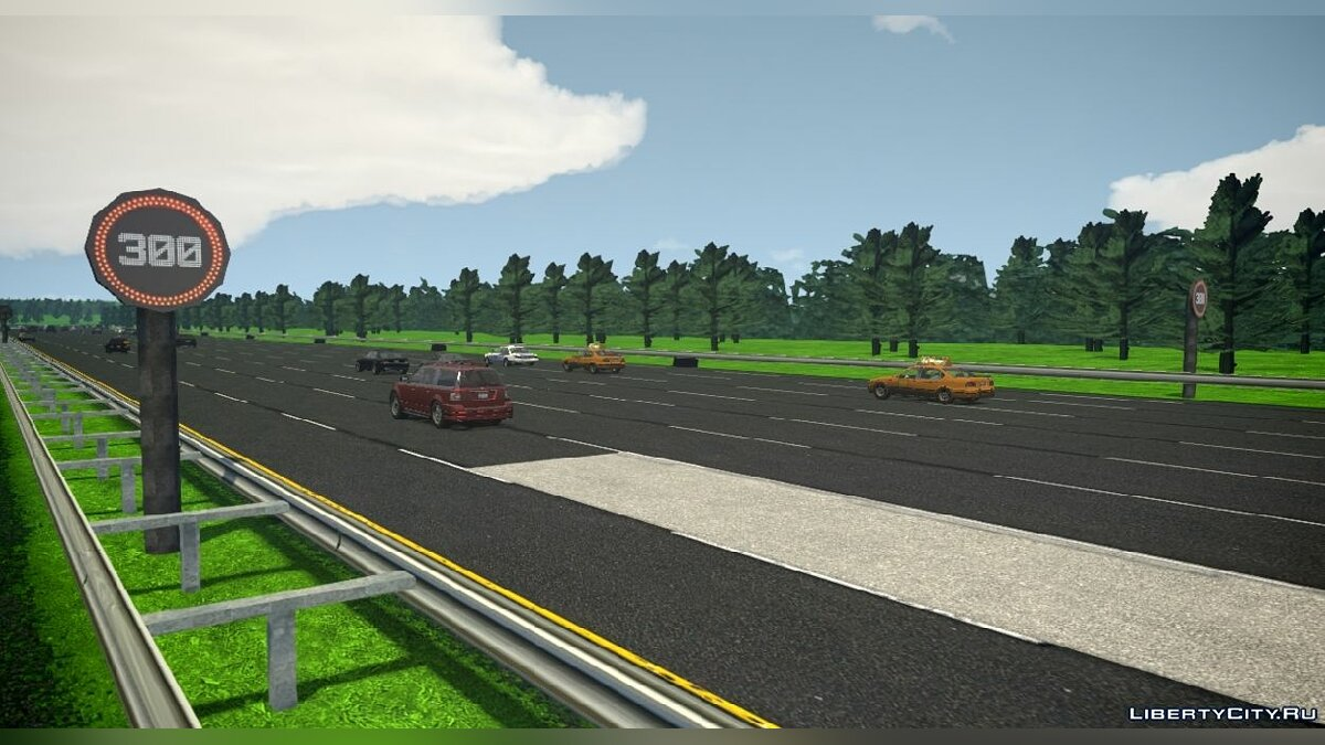 Новий острів European 8-Lane Highway для GTA 4