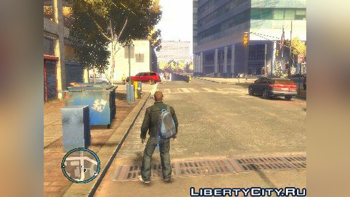 Backpack Mod для GTA 4