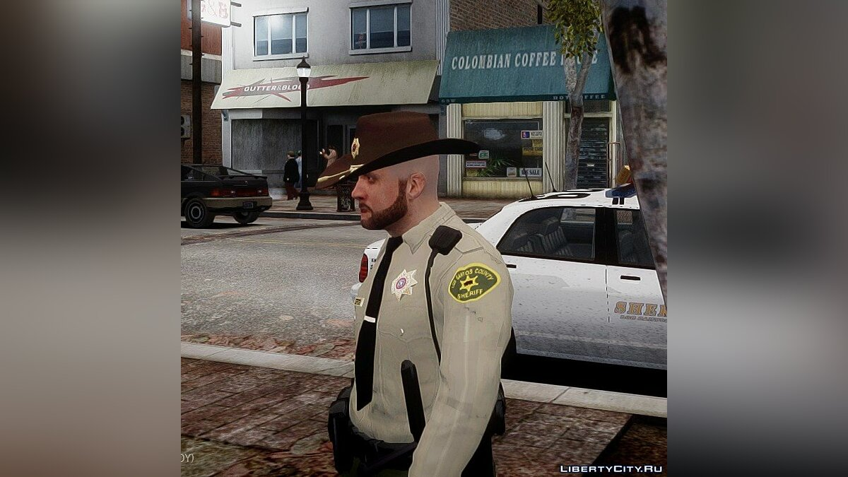 ��овий персонаж GTA V sheriff для GTA 4