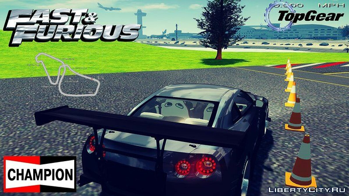 Новий об'єкт Top Gear Track Fix + Objects для GTA 4
