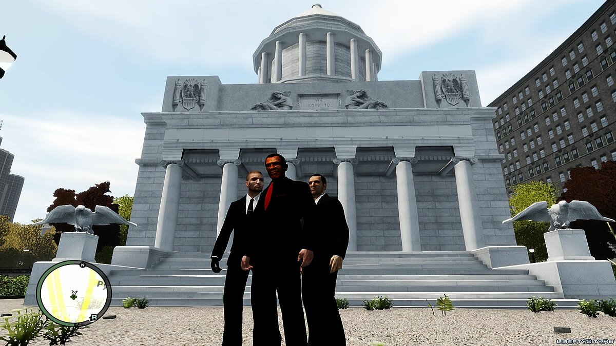 Новий об'єкт White House Mod President Barack Obama Version для GTA 4