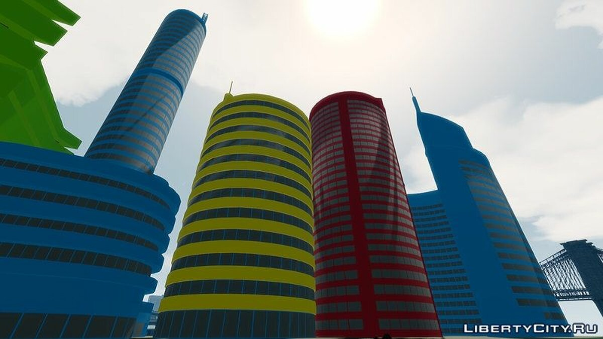 Новий об'єкт Google SkyScrapers Buildings для GTA 4