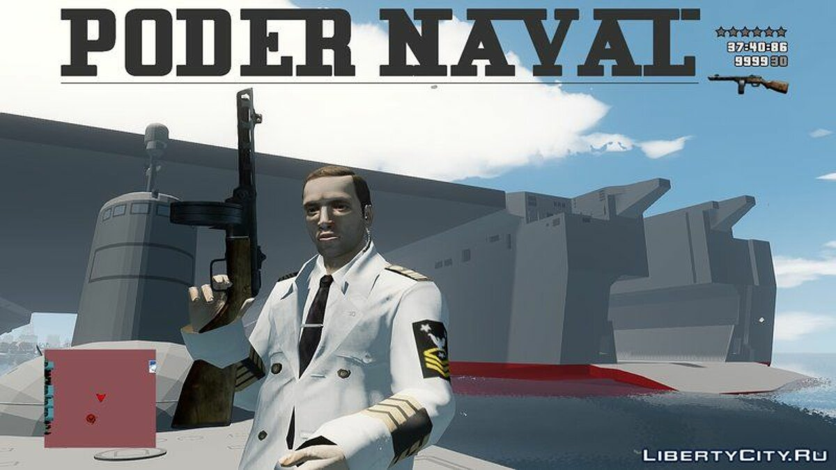 Новий об'єкт Poder Naval Navy Power для GTA 4