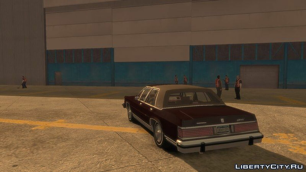 Машина Mercury Grand Marquis LS 1986 для GTA 4