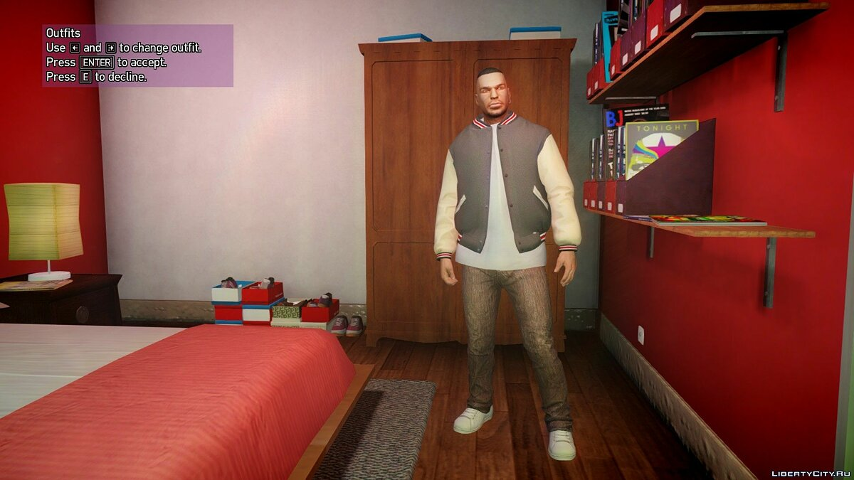 Штани [GTA V] Franklin's jeans pack для GTA 4