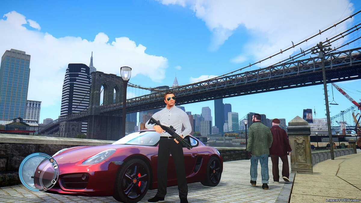 Мод ICEnhancer Reality Clear Sky для GTA 4