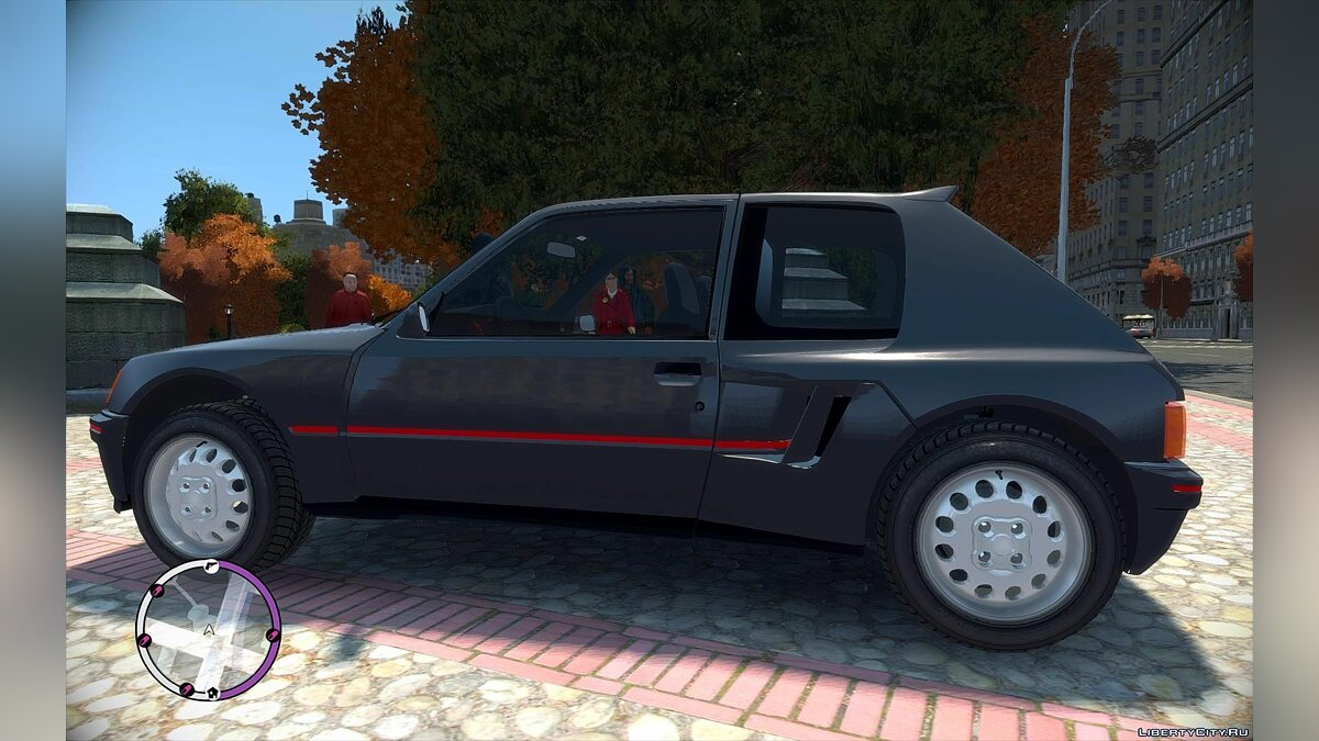 Машина Peugeot Peugeot 205 Turbo 16 Stock для GTA 4
