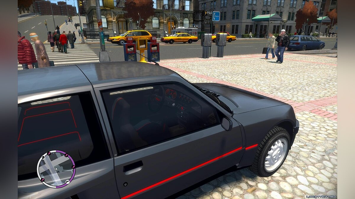 ��ашина Peugeot Peugeot 205 Turbo 16 Stock для GTA 4