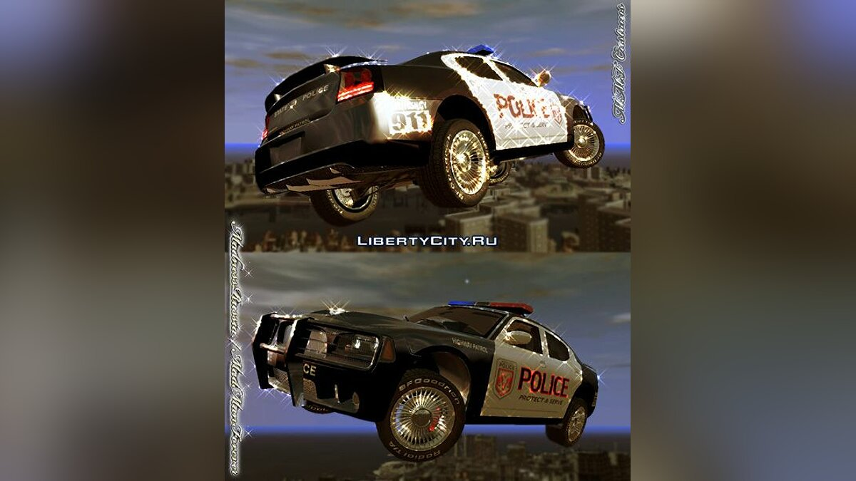 Police Cruiser Dodge Charger SRT8 для GTA 4 - Картинка #1