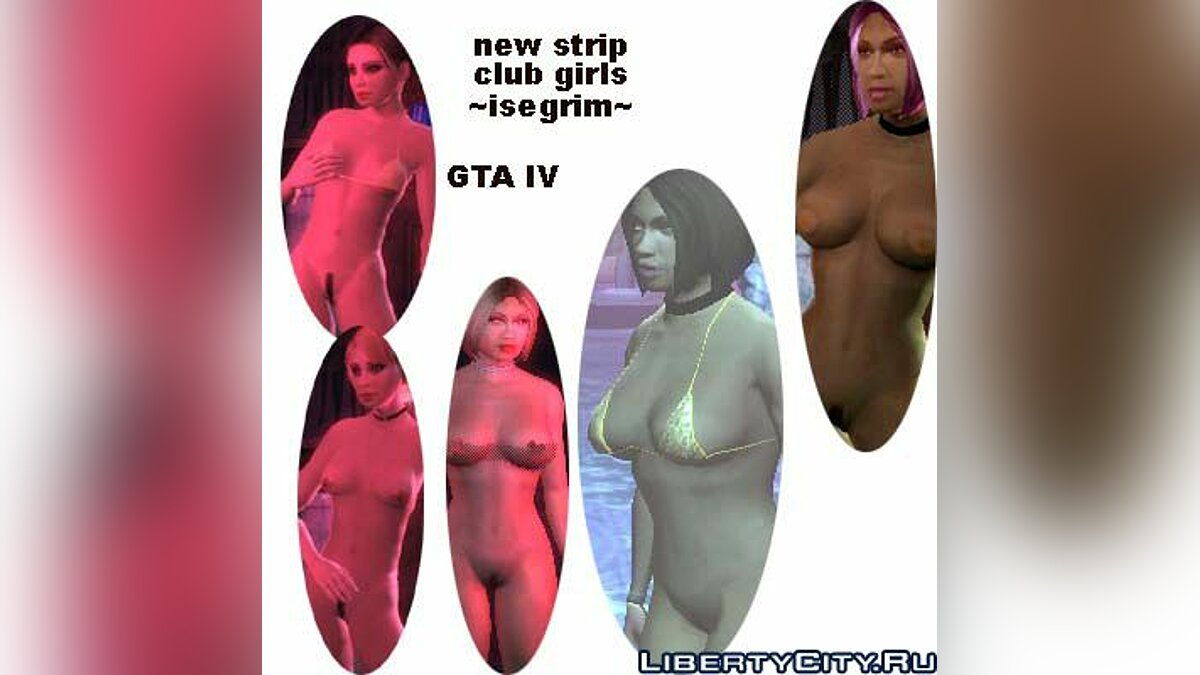 Strip Club - more Sexy Girls для GTA 4