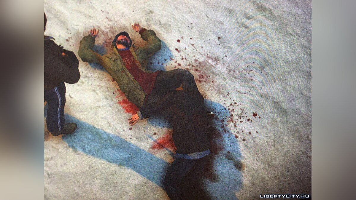 Текстурний мод Real Shooting Atmosphere (Blood, Bullet Holes) для GTA 4