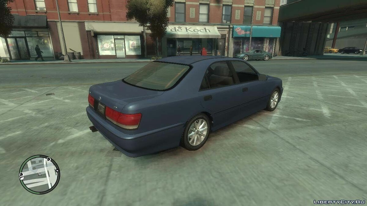 Машина Toyota +1999 Toyota Crown S170 v.1.0 для GTA 4