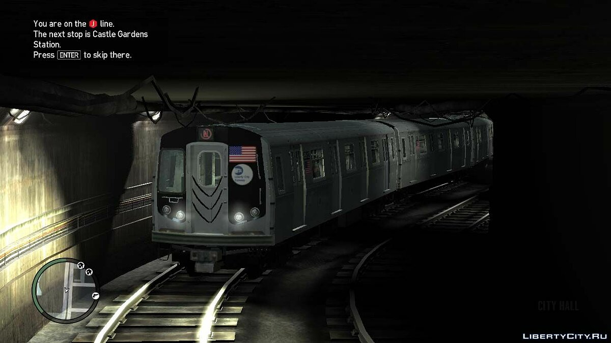 Поїзд R-160 Subway car V.1.0 для GTA 4