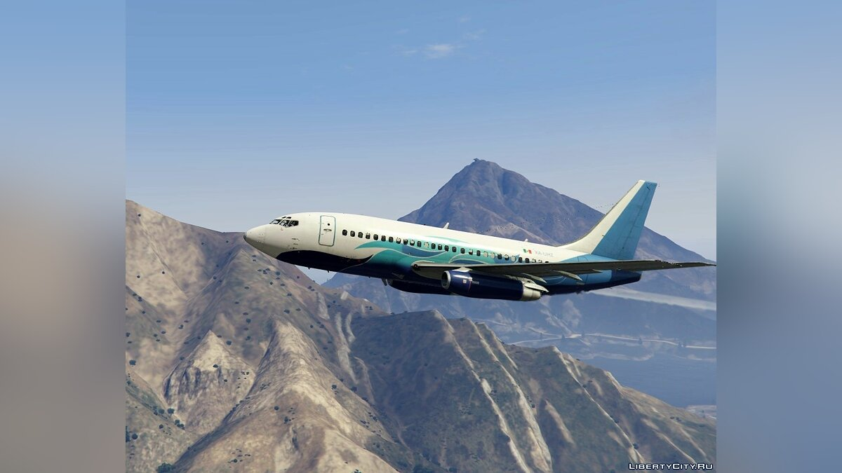 Новий персонаж Boeing 737-200 Global Air XA-UHZ (Flight CU972) flight 972 для GTA 5