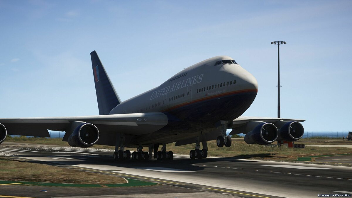 _engBoeing 747SP [Add-On] 1.0 для GTA 5