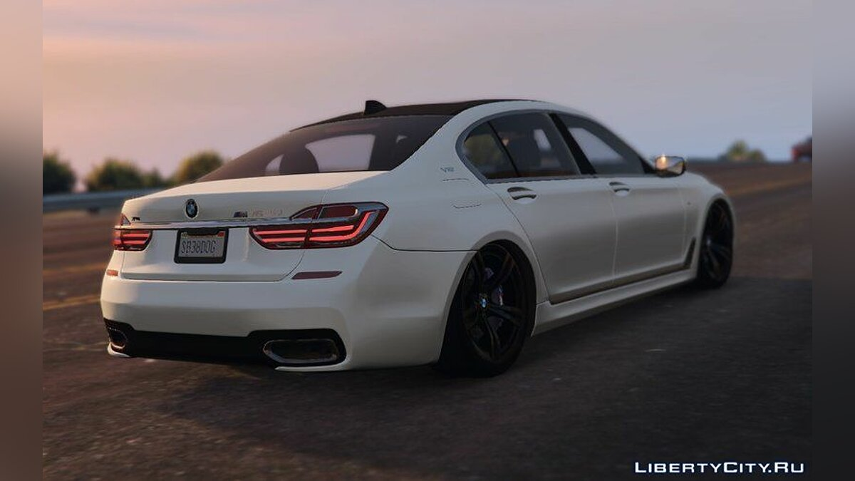 BMW M760il 2018 (Add-On) для GTA 5 - скріншот #2