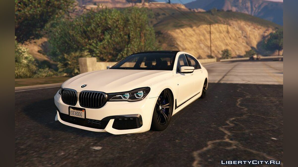 BMW M760il 2018 (Add-On) для GTA 5