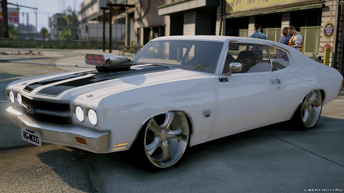 Машина Chevrolet Chevelle SS TJ RG MODS (Replace) 1.0 для GTA 5