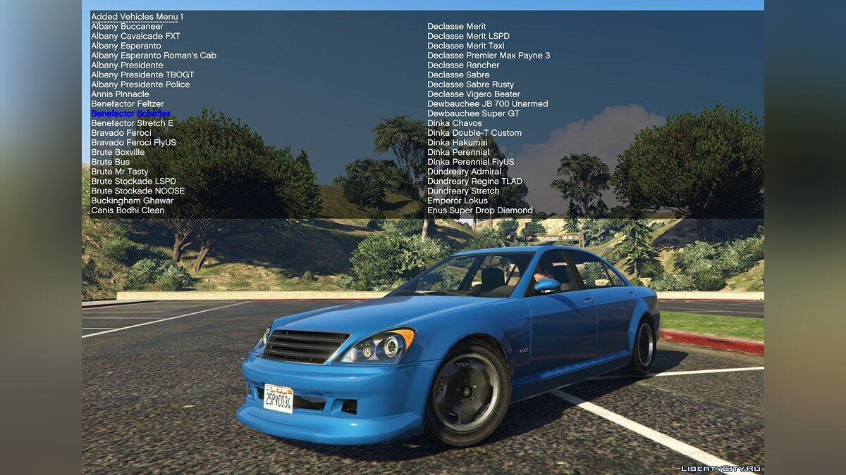 Файл Simple Trainer Support for IVPack v1.0.125 для GTA 5